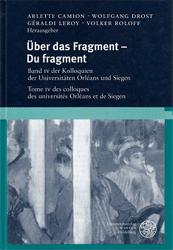 Über das Fragment - Du fragment.