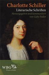 Literarische Schriften. - Schiller, Charlotte
