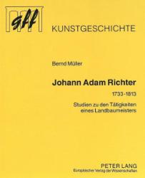 Johann Adam Richter (1733-1813). - Müller, Bernd