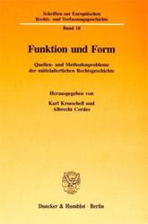 Funktion und Form.